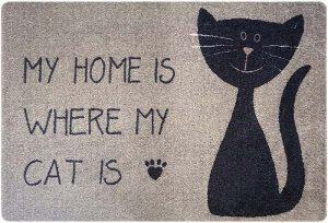 Geschenke für Katzenliebhaber Fußmatte