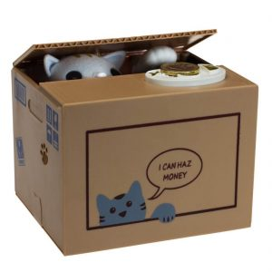 Spardose Katzen Geschenk