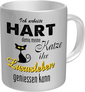 Tasse Katzenfreunde Geschenk