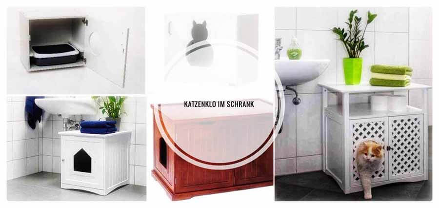 katzenklo schrank katzenschrank test 2018 katzenblog. Black Bedroom Furniture Sets. Home Design Ideas