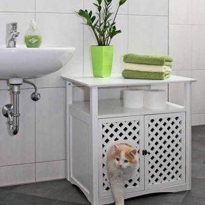 Katzenklo Schrank Waschbeckenunterschrank