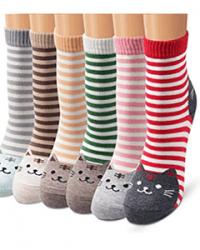Katzen Socken Geschenk