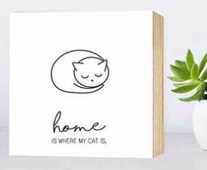 Handmade Katzen Geschenk