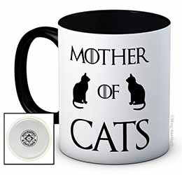 mother of cats tasse