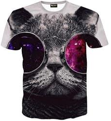 katze Shirt 3D Druck